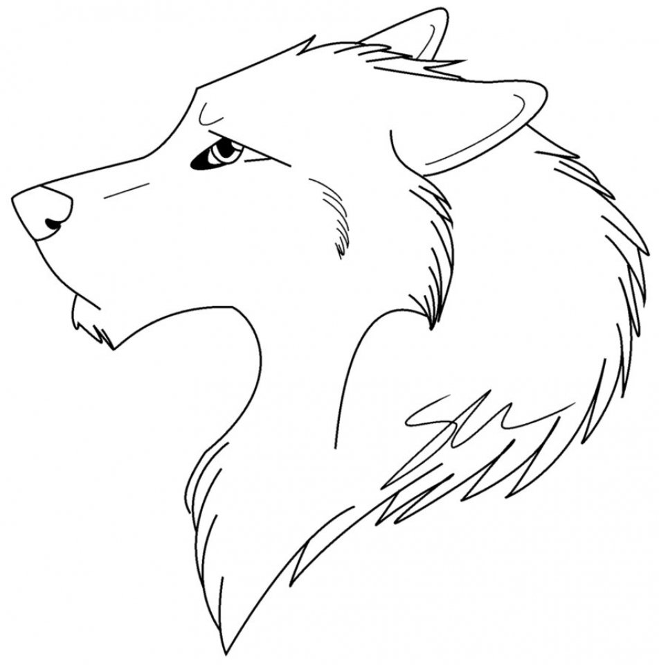 Wolf Coloring Pages Free Printable   96732