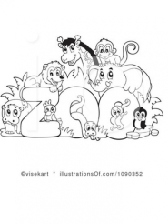 Zoo Coloring Pages Free to Print 77561