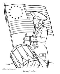 4th of July Coloring Pages for Toddlers - 9517s