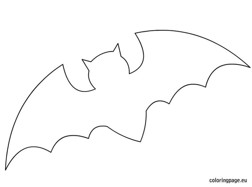 Bat Coloring Pages Free Printable - 41552