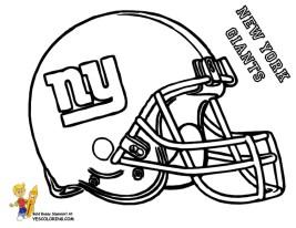 Coloring Pages of NFL Helmets - 8shem