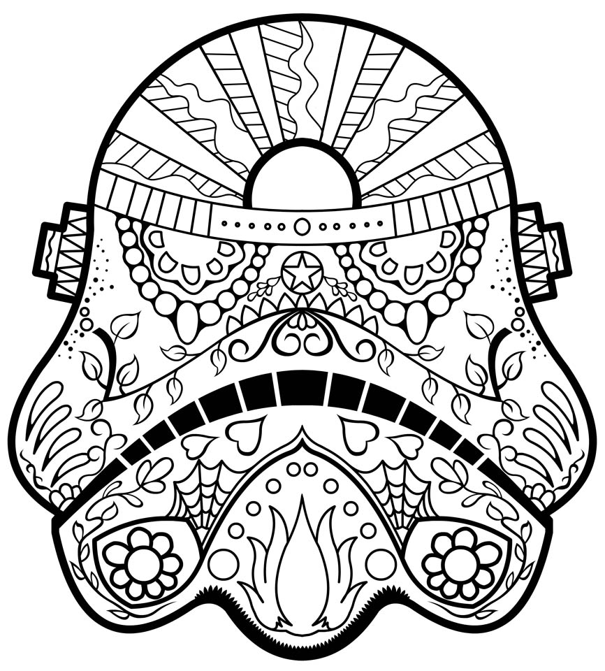 Day of the Dead Coloring Pages Online Printable - tcv31