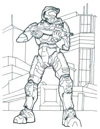 Halo Coloring Pages Online Printable - 6dfg3