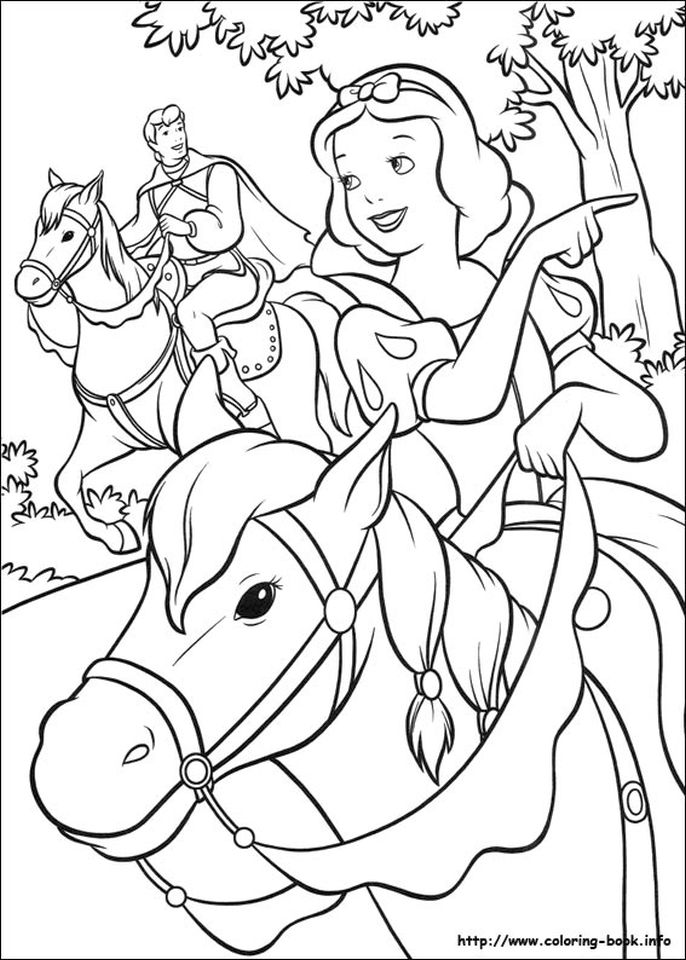 Snow White Coloring Pages Princess Printables - oyl7v