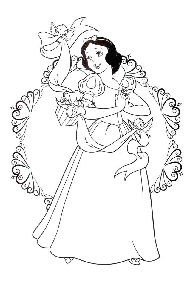 Snow White Coloring Pages Princess Printables - yvb58
