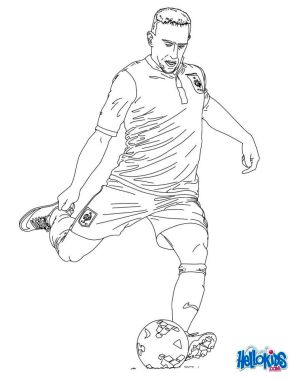Soccer Coloring Pages Kids Printable - mt84l