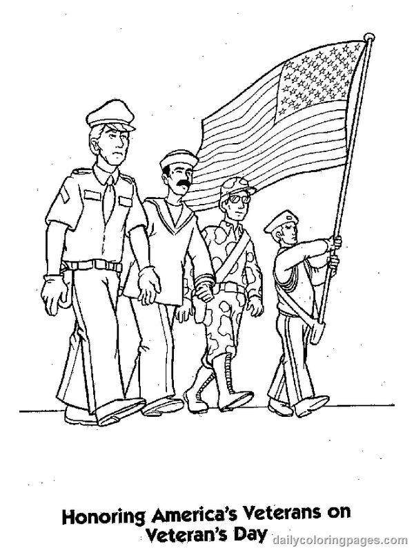 Get This Veteran S Day Coloring Pages For Preschool 7avsm