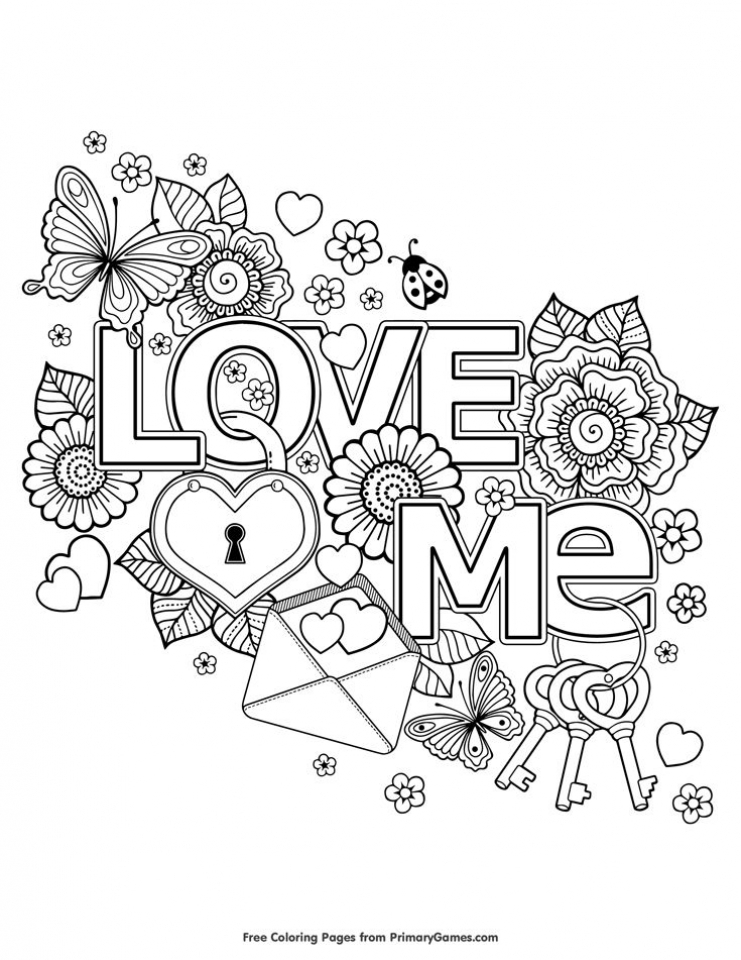 Get This Adults Printable Love Coloring Pages U2lf7 !