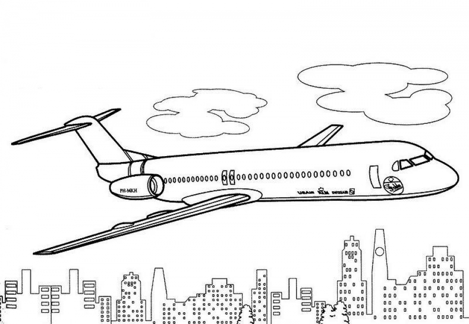 Get This Airplane Coloring Pages For Adults Tac41