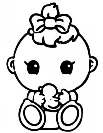 Baby Coloring Pages Printable 5391k
