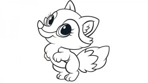 baby fox coloring pages 61ahw