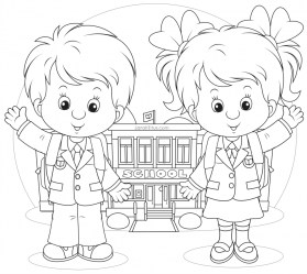 Back to School Coloring Pages for Toddlers yd75p