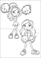 Bratz Dolls Coloring Pages tar06