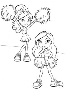 Bratz Dolls Coloring Pages tar06