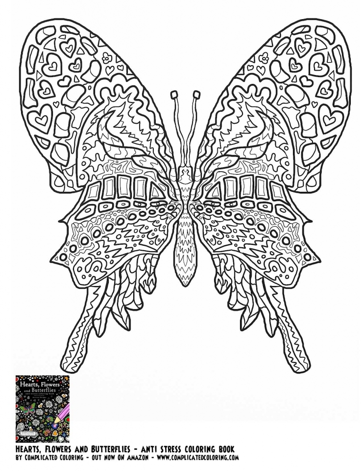 Get This Butterfly Coloring Pages Adults Printable Ayu5 !