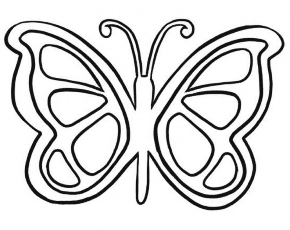 Get This Butterfly Coloring Pages for Preschoolers hg516