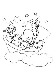 Coloring Pages of Baby Free Printable b32x1