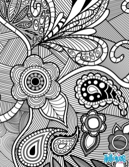 Cool Abstract Design Coloring Pages 73617