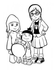 Despicable Me Coloring Pages for Kids 77451