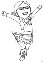 Despicable Me Coloring Pages Free for Toddlers 64md2