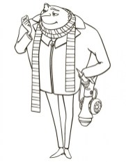 Despicable Me Coloring Pages to Print 36ah5