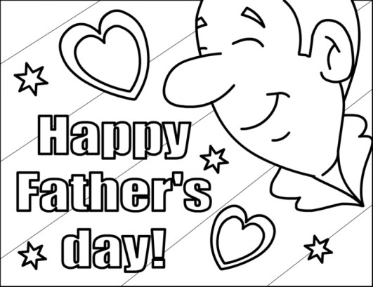 Father's Day Coloring Pages for Kids