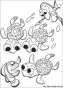 Finding Nemo Coloring Pages Printable 2548d