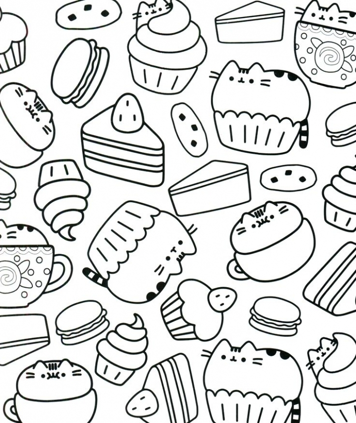 Get This Food Coloring Pages Printable 7cven !
