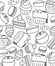 Food Coloring Pages printable 7cven