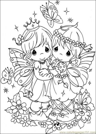 Precious Moments Christian Coloring Pages - Coloring Home | 448x320