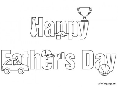 Happy Father's Day Coloring Pages Printable 5ab32