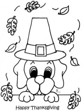 Happy Thanksgiving Coloring Pages 6xv31