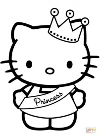 Hello Kitty Coloring Pages Free 7cb3m
