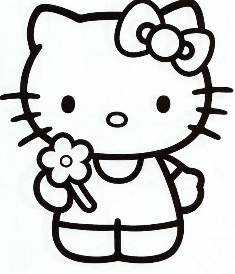 hello kitty coloring pages printable | Online Coloring Pages | 960x825