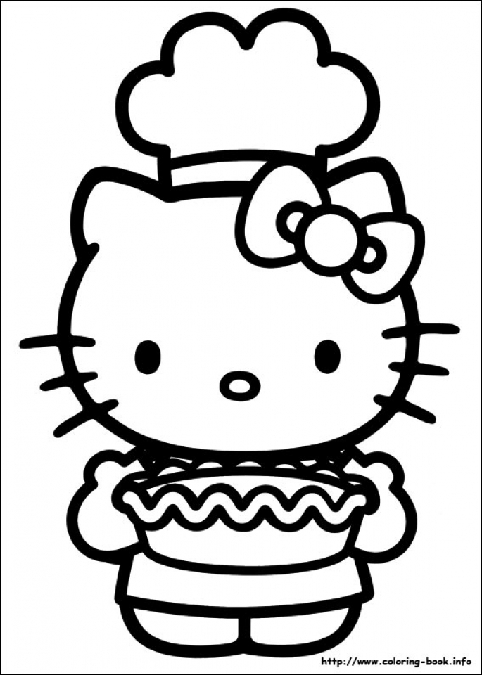 Hello Kitty Coloring Pages to Print   2bdf7