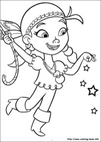 Jake and The Neverland Pirates Coloring Pages Free 7cv4m