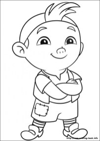 Jake and The Neverland Pirates Coloring Pages Free tsc3z