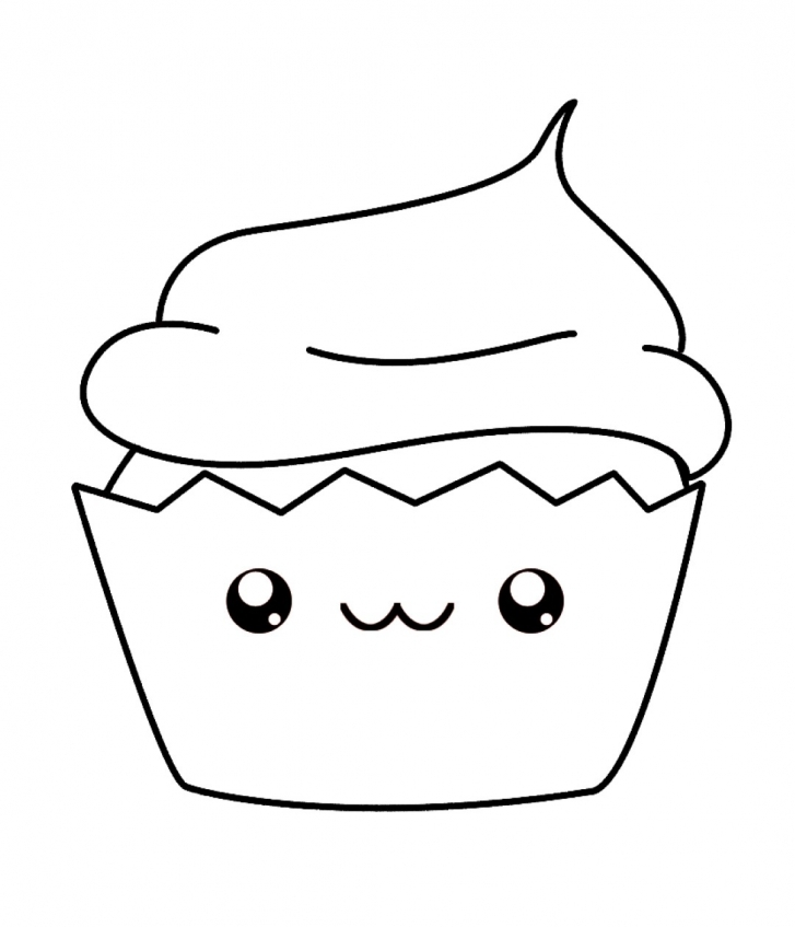 Kawaii food coloring pages   p47c3