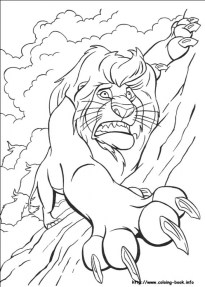 Lion King Coloring Pages for Kids 5zmn9
