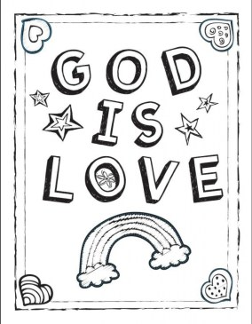 Love Coloring Pages for Kids 215ad