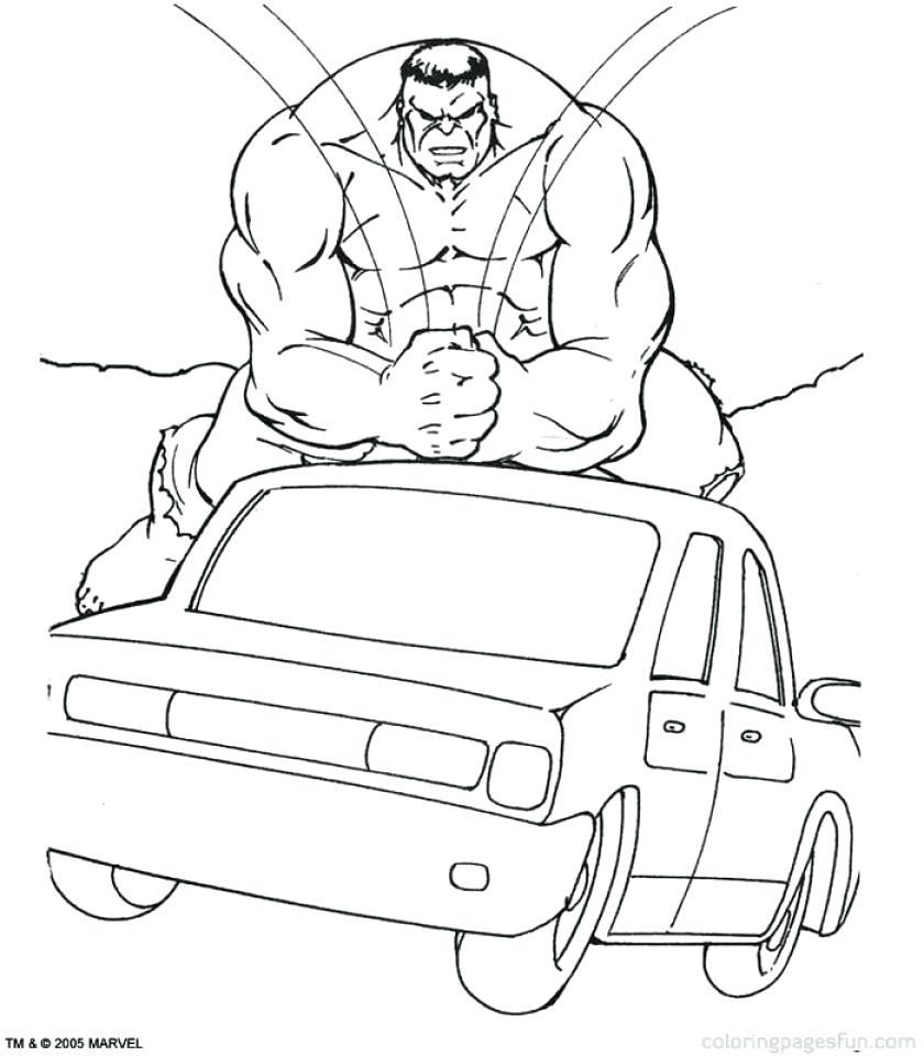 Marvel Coloring Pages Hulk   jwam6