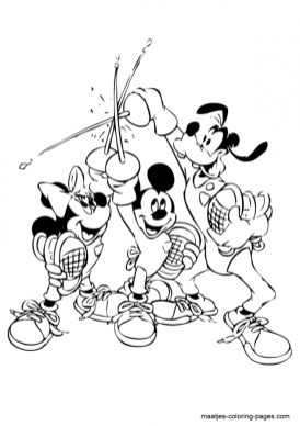 Mickey Mouse Clubhouse Coloring Pages Free Printable 99607