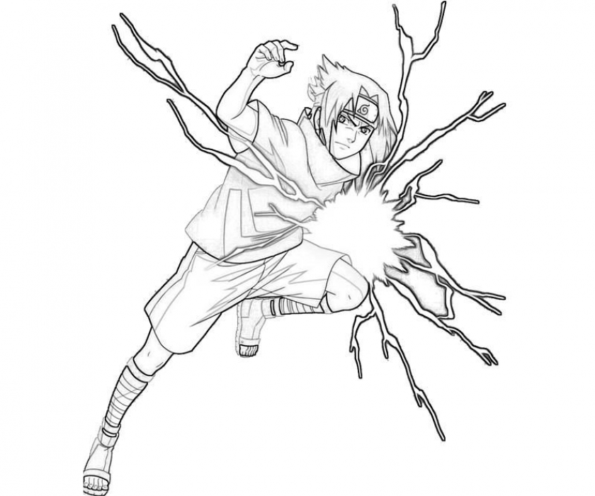 Naruto Characters Coloring Pages   89401