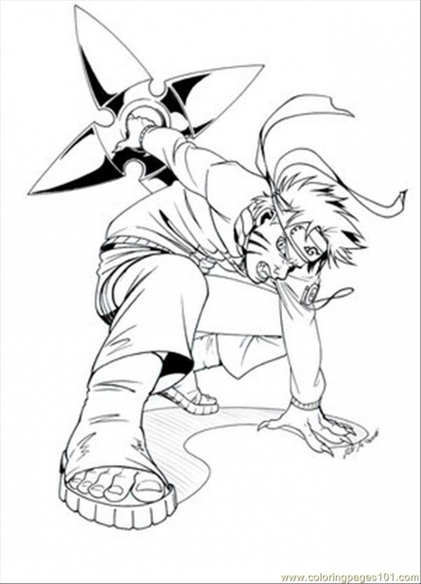 Naruto Coloring Pages Printable   14253