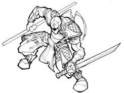 Ninja Coloring Pages Free Printable e52m