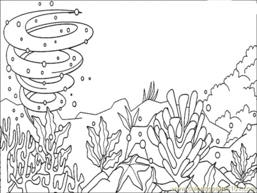 Ocean Coloring Pages for Kids 92017