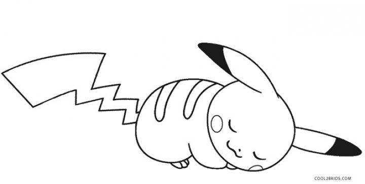 Pikachu Coloring Pages Printable   uagd4