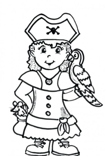 Pirate Coloring Pages Free Printable for Kids at28c