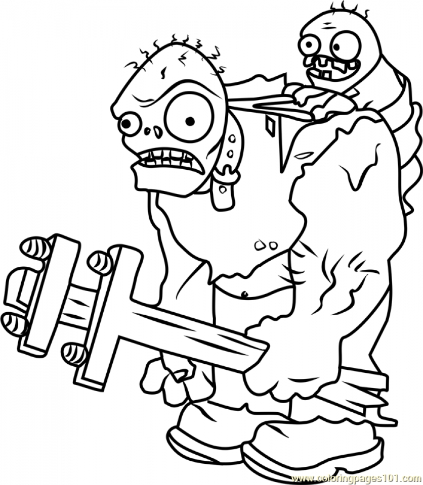 - Get This Plants Vs. Zombies Coloring Pages Fun Printables At896 !