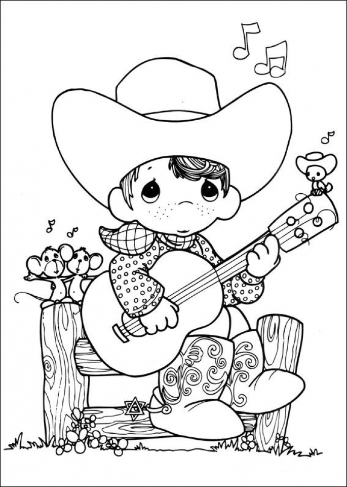 Free Printable Precious Moments Coloring Pages For Kids | 960x685